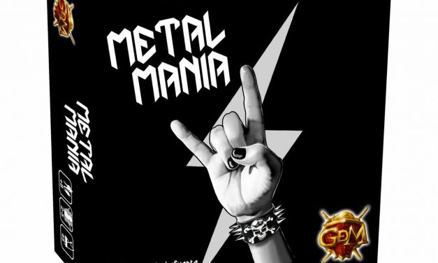 Metal Mania Juego de Mesa, sé el Manager de tu propia banda de Rock +Entrevista