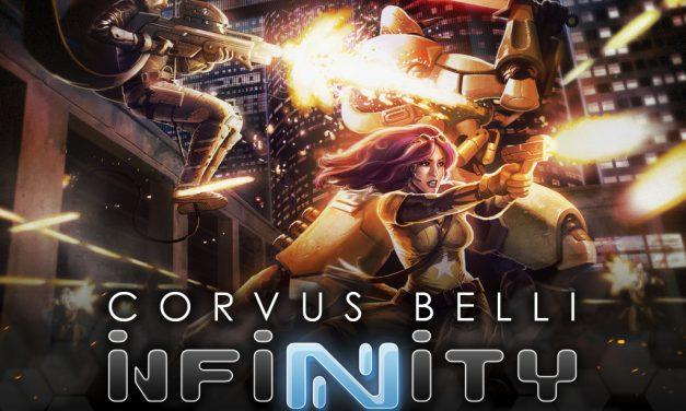 Modiphius anuncia lanzamiento de Infinity RPG en PDF