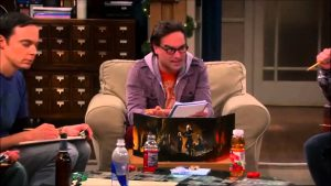 Dungeons and Dragons en la serie The Big Bang Theory
