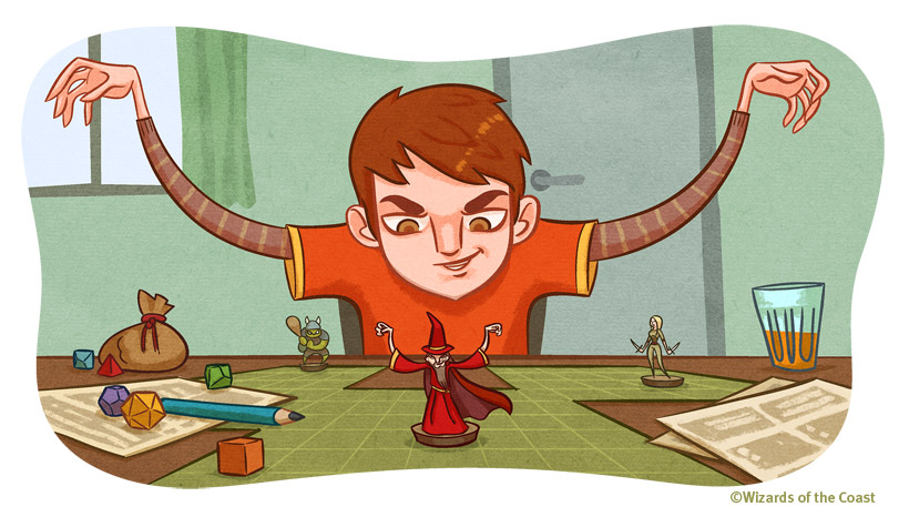 Dungeons and Dragons para niños