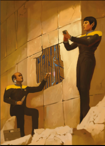 Star Trek Adventures RPG está hecho principalmente para aventuras más cerebrales, como la serie en la que se basa, sin embargo no descuida el aspecto del combate