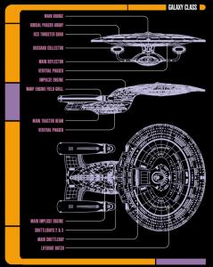 Star Trek Adventures RPG nave clase Galaxy