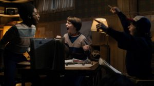 Stranger Things, niños jugando Dungeons and Dragons