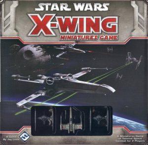 X-Wing Miniatures Game, uno de los más exitosos de la historia, perteneciente a Fantasy Flight Games ahora parte del conglomerado de Asmodee