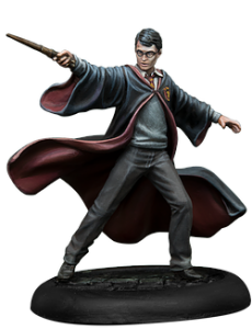 Harry Potter, de la caja de Inicio de Harry Potter Miniatures Adventure Game