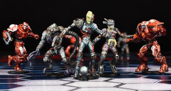 Dreadball Segunda Edición Cyborgs vs. Neobots