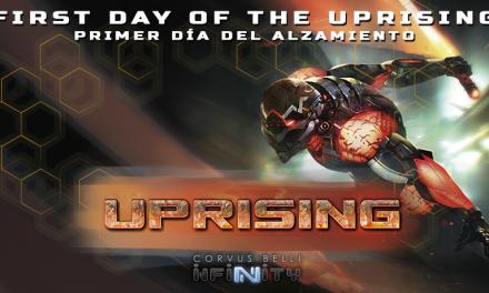 Infinity Uprising confirma, el sectorial JSA en Rebelión contra Yu Jing