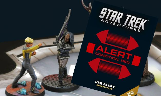 Star Trek Adventures: Red Alert, juego gratis para batallas con las miniaturas de Modiphius