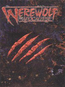 Portada del juego de rol Werewolf The Apocalypse