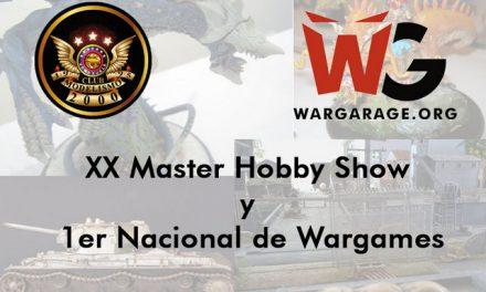 Invitación al XX Master Hobby Show y 1er Nacional de Wargames por Club de Modelismo 2000  y Wargarage.org