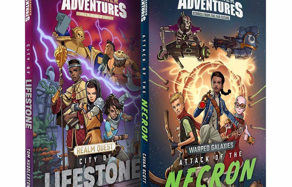 Warhammer Adventures novelas para niños ambientadas en Warhammer 40,000 y Age of Sigmar