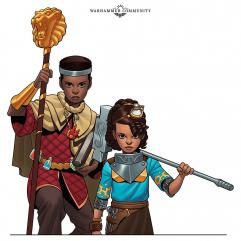 Warhammer Adventures Realm Quest: The City of Lifestone personajes, Elio y Alish