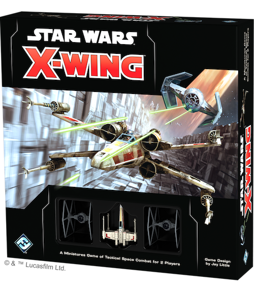 X-Wing Miniatures Game Segunda Edición de Fantasy Flight Games, subsidiaria de Asmodee Group