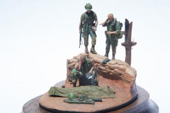 Viñeta de la Guerra de Vietnam por nuestro columnista Andrés Mora