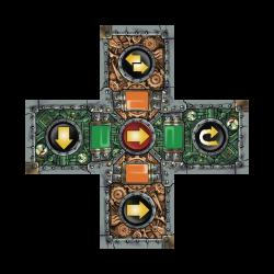 Scrappers, pieza central con módulos anexados, éste es el objetivo final