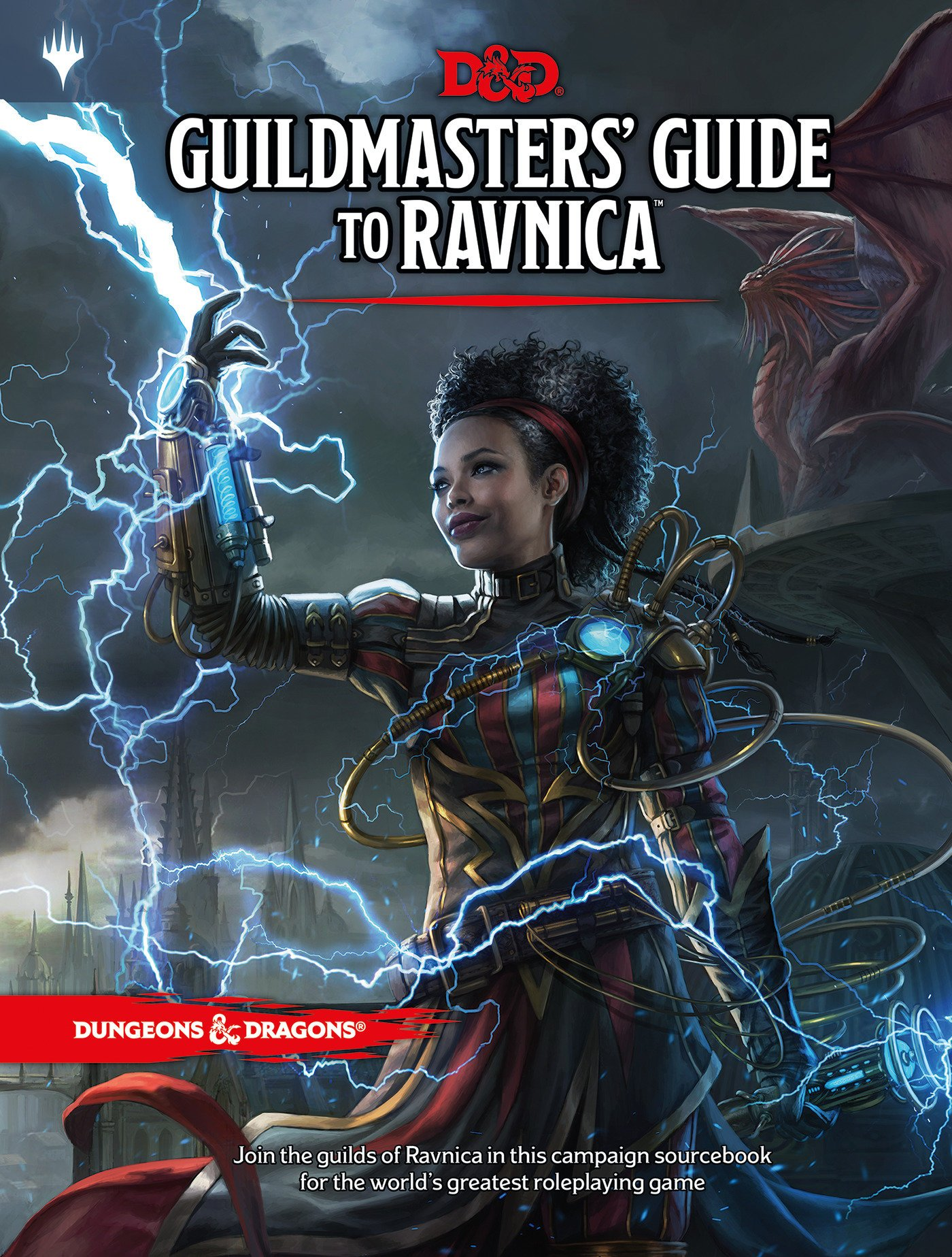 La recientemente anunciada Guía para Ravnica que une Dungeons and Dragons con Magic: The Gathering