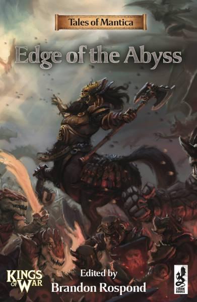 Portada de Edge of Abyss del juego de miniaturas Kings of War