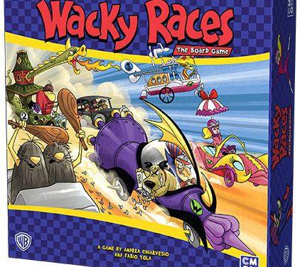 CMON Anuncia la publicación del juego Wacky Races (Autos Locos) basado en la caricatura de Hanna Barbera