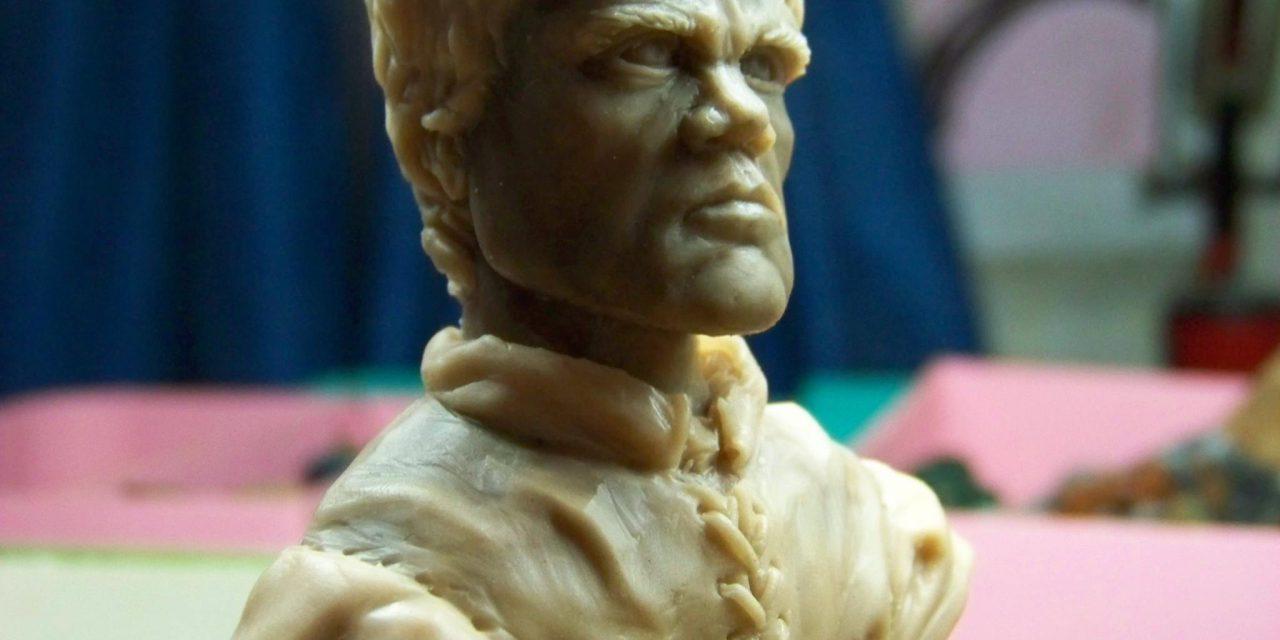 Jugando en serio: Isaac Gutiérrez, escultor de miniaturas