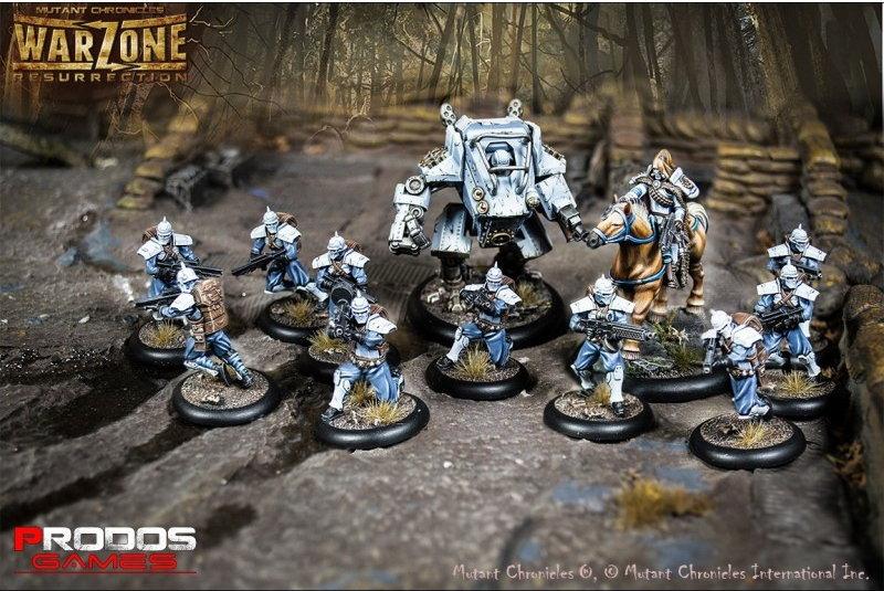 Prodos Games Warzone Resurrection Bauhaus Starter Box 2
