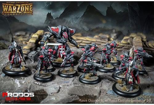 Juego de Miniaturas Warzone: Resurrection de Mutant Chronicles