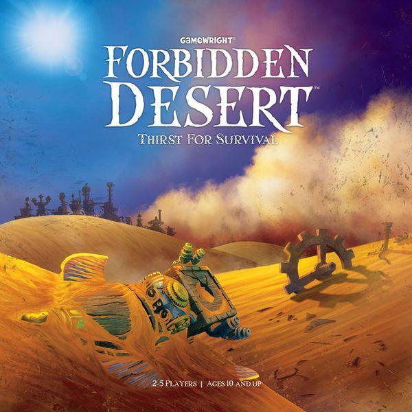 Desierto Prohibido Juego de mesa – Reseñas de Padre e hija