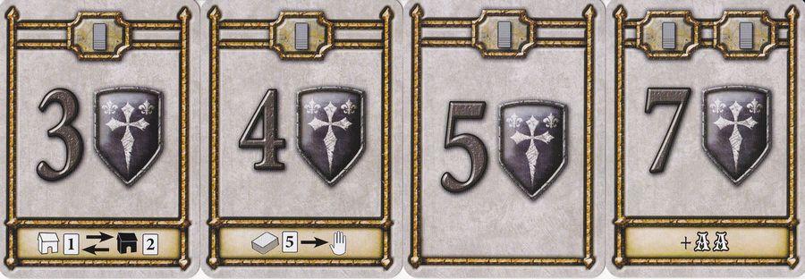 Guildhall Cartas de Puntos de Victoria