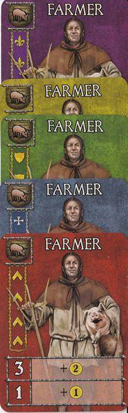 Guildhall un set de granjeros
