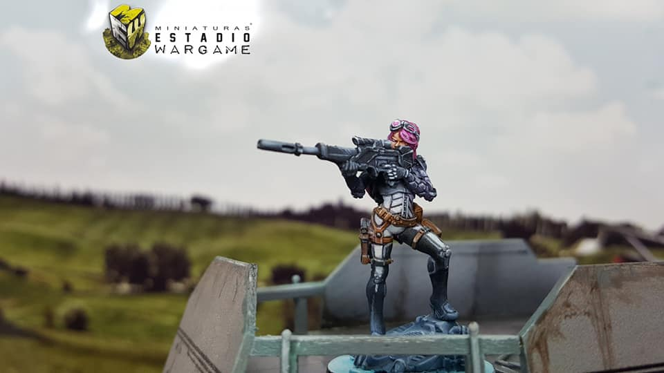Infinity Operation Coldfront Aleph OperationS Nagas Sniper miniatura