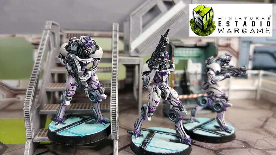 Infinity Operation Coldfront Aleph OperationS Tacbots Dakini miniaturas