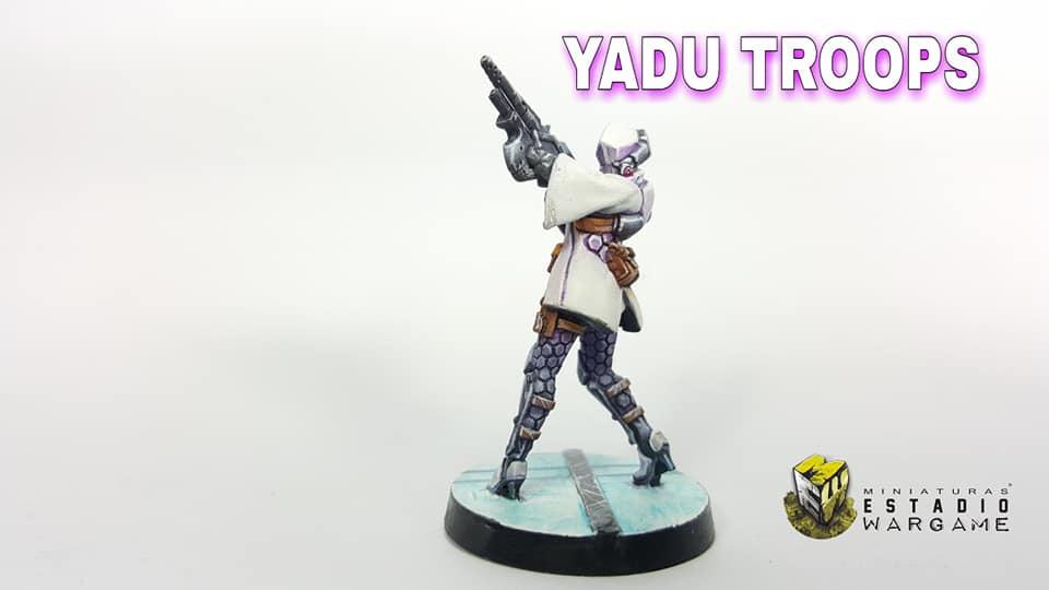 Infinity Operation Coldfront Aleph OperationS Tropas Yadu miniatura