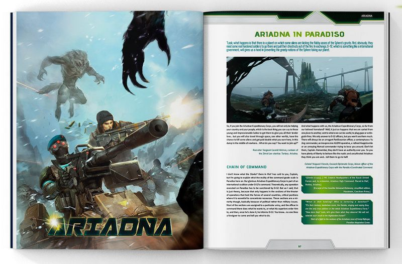 Infinity Third Offensive book internal preview