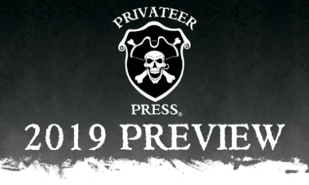 Lanzamientos Privateer Press 2019 (Warmachine/Hordes, Monsterpocalypse y más)