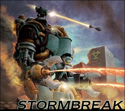 Privateer Press Warmachine/Hordes, portada de Stormbreak Juego Organizado