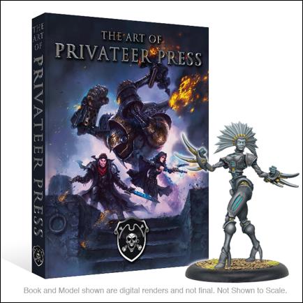 Portada de The Art of Privateer Press, Próximamente en Kickstarter