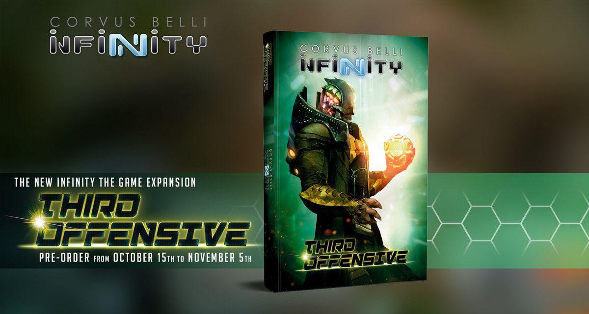 Infinity Tercera Ofensiva, la más reciente expansión de este excelente juego de miniaturas
