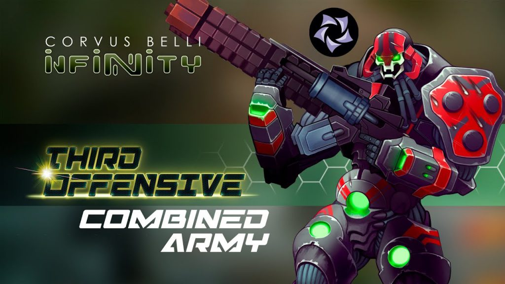 Infinity Third Offensive Combined Army Conceptual Art
