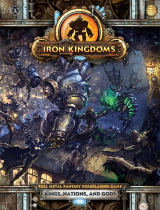 Iron Kingdoms RPG Kings, Nations and Gods portada.jpg