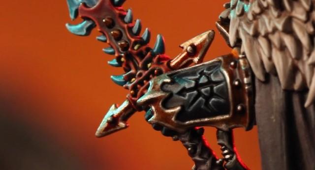 Ésta debería ser Drach'nyen la famosa espada del Daemon