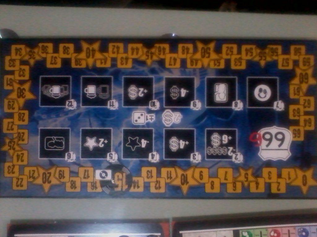 Main board of Metal Mania Board Game