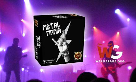 Metal Mania dirige tu propia banda de Heavy Metal con este juego de mesa (reseña)