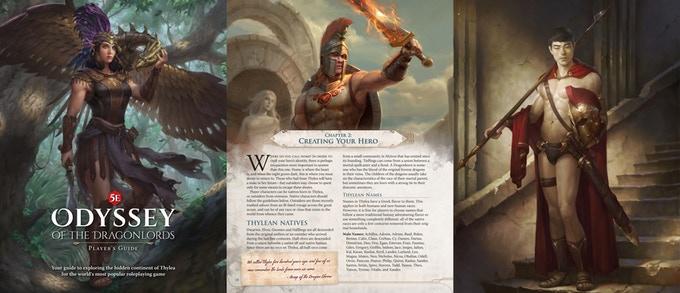 Odyssey of the Dragonlords Guía del Jugador