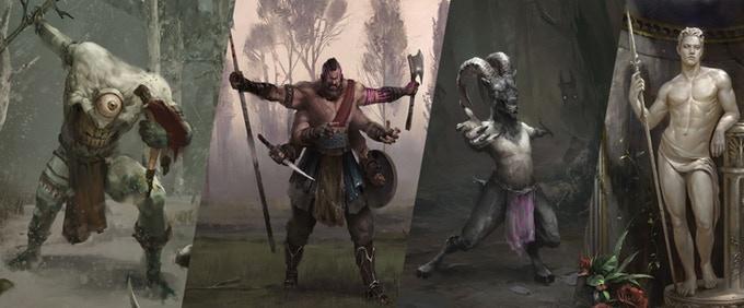 Odyssey of the Dragonlords Ilustraciones