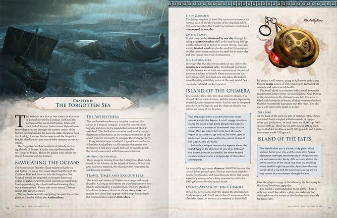 Odyssey of the Dragonlords páginas internas