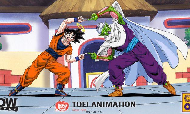Dragon Ball Z el juego de mesa de IDW Games y CMON