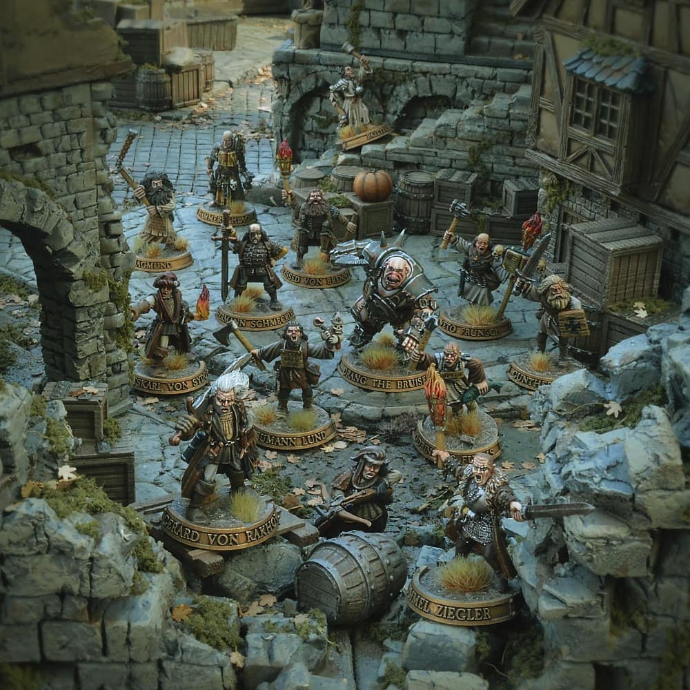 Mordheim City of the Damned, foto cortesía de @bishop_microworld en Instagram