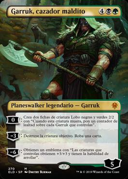 Garruk Cazador Maldito Planeswalker Sin Borde