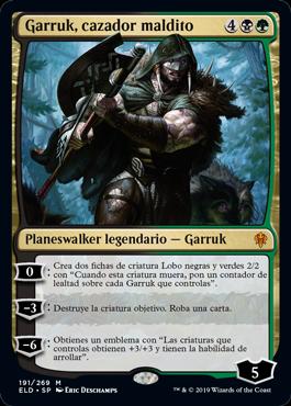 Garruk Cazador Maldito Planeswalker normal