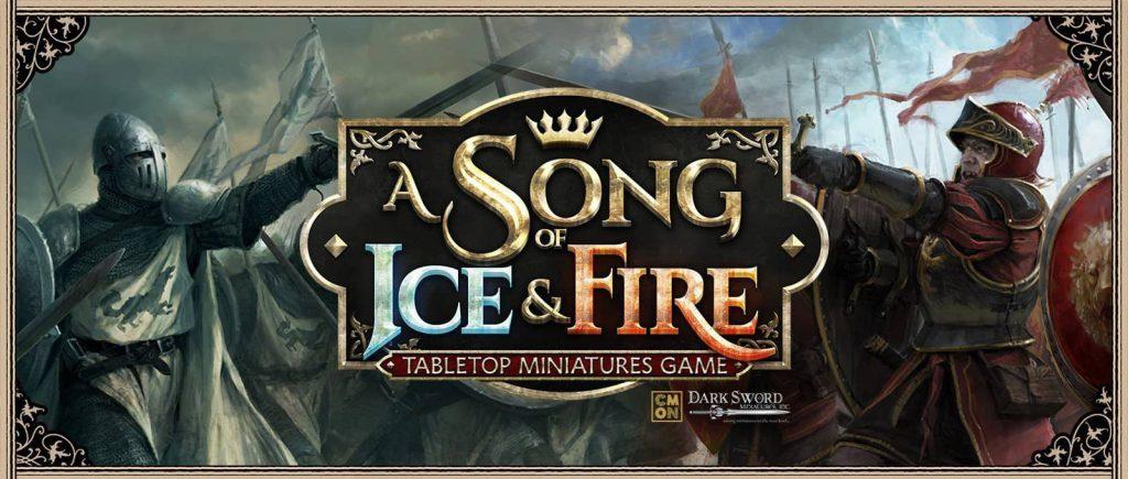 Juego de miniaturas de juego de tronos cancion de hielo y fuego