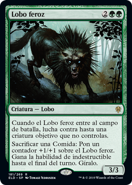 Lobo feroz Marco Normal